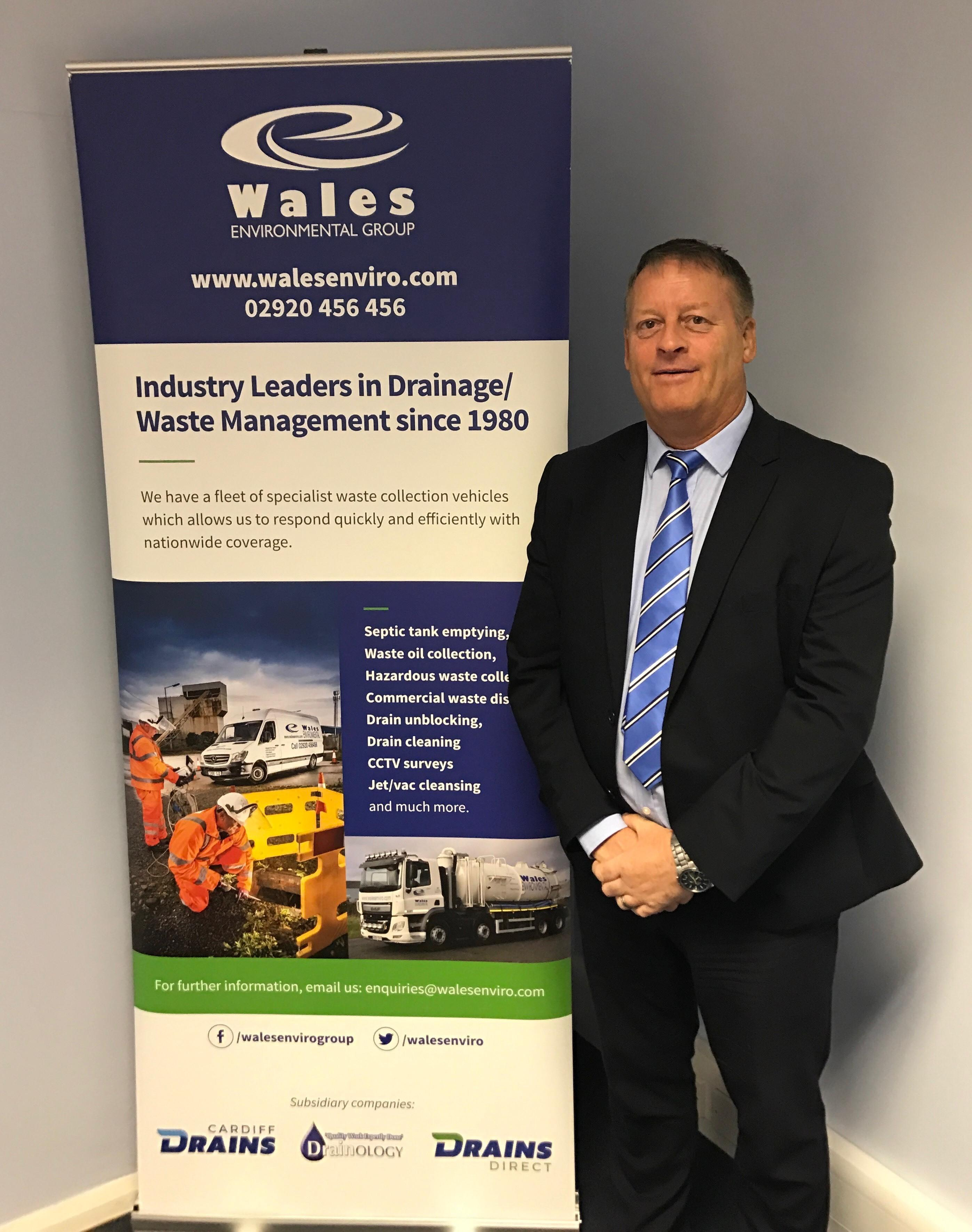 Wales Environmental Group appoints Dave Lewis to the Board of Directors